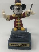 """Disney Le Bandleader Mickey Mouse Crystal Large 6"""""""