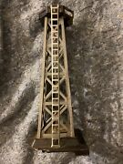 Vintage Marx Rotary Light Beacon Tower O Gauge Plastic. For Parts Lionel