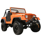 Fit 59-86 Jeep Wrangler Cj5/6/7 Flat Style Abs Wide Body Fender Flares