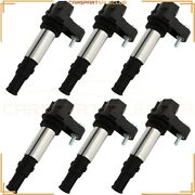 6 Pcs Ignition Coils Fits 05-08 Buick Lacrosse Cadillac Cts 09 Chevy Traverse