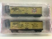 N Scale Micro Trains Special Run 04-23 Miller Highlife Beer 2-pack