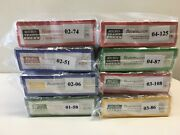 N Scale Micro Trains Special Run Complete Brewmasterand039s Series - Eight 2-packs