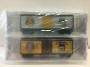 N Scale Micro Trains Special Run 04-65 Old Dominion Ginger Ale/root Beer 2-pack