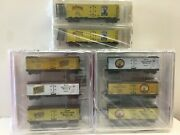 N Scale Micro Trains Special Run 96-45, 97-32, 98-40 Fort Townsend Beer Sets