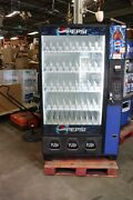 Soda Vending Machine With Look Through Glass Display