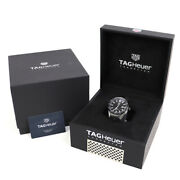Tag Heuer Carrera Connected Modular 45mm Automatic Black Ceramic Rubber Awbf2a80