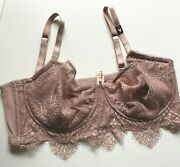 Victoria's Secret Dream Angels Push Up Without Padding Bra -38dd Floral Lace New