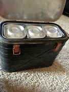 Us Military Wyott Corp 1972 Food 1974 Cooler Metal Storage Insulated Container