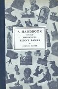 Antique Cast Iron Mechanical Penny Banks / Rare Signed 1948 1st Edition Book