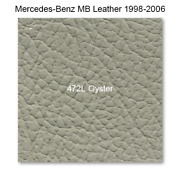 Mercedes 208 1998-2003, Seat Rr Set, Leather, 472l Oyster, Coupe