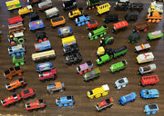 Vintage Thomas And Friends Wooden Railway Magnetic Train And Truck Lot