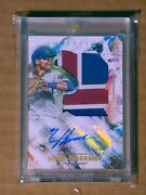 2020 Topps Inception Nico Hoerner Jumbo Rookie Rc Auto /90 Cubs Mint
