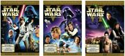 Star Wars Episodes 4-6 Six Dvds Original Theatrical Cut And Edited Versions