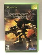Shadow The Hedgehog Microsoft Xbox 2005 Complete W/ Manual - Tested Working