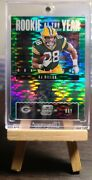 2020 Aj Dillon Ssp And039d /27 Contenders Optic Roy Green Pulsar On Card Rookie Auto