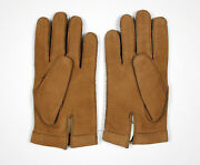 Vtg 1960and039s Suede Gloves Size 8 Made In France