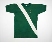Vtg 1980and039s Champion Green T-shirt Size Large - Made In Usa