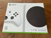 Xbox Series S Console 512gb Microsoft W/ Controller And Hdmi Cable Brand New