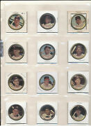 1964 Topps Coins Complete Set 1-164 Low/mid Grade With 3 Mantles 165 Coins