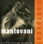 Mantovani And His Orchestra - Play Strauss Waltzes - Cd - Import - Sealed/ New