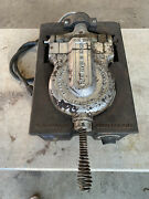 Vintage Fs Carbon Co. Rugged 1 Cast Iron Commercial Waffle Maker