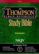 Thompson Chain Reference Bible Style 313 - Regular Size Nkjv - Hardcover
