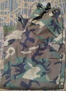 Us Military Goretex Trousers Pants Cold Wet Weather Woodland Camo Large Regular