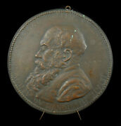 Locket Maurice Le Gallen Homme Political Colony Indochina Cochin China 7 3/8in