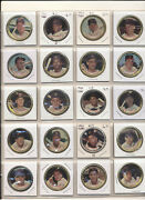 1964 Topps Coins Complete Set 1-164 Mid Grade With 3 Mantles 165 Coins Vgex