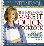 The Busy Mom's Make It Quick Cookbook By Jyl Steinback Mint Condition