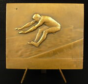 Medal Hop In Length Competition Long Jump Sc Andre Mery C 1930 Medal