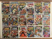 Lot X 18 Marvel Two In One 16 17 20 21 22-28 29 30-34 Key Issue Comic Fn-vf