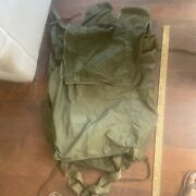 Us Military Nylon Duffle Bag / Sea Bag/rucksack With Straps Large Army Or Air