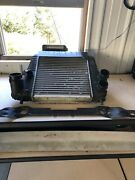 Used Ford F-150 2013/2014 Intercooler- Charge Air Cooler. Includes Lower Bracket