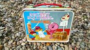 Vintage Atom Ant Secret Squirrel 1966 Lunchbox By King-seeley Thermos Co Toy Lot