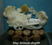 16natural Clam Tridacna Shell Carving Sucess Horse Pull Wealth Baicai Cabbage