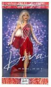 Stock Barbie Dolls Diva Collection Red-hot 56707 Red Hot Collectible 2002