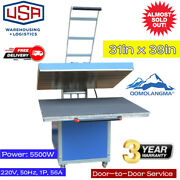 Us Stock 31 X 39in Large Manual Textile Thermo Transfer Heat Press Machine 220v