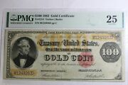 1882 100 Note Gold Coin United States Note Pmg Vf25