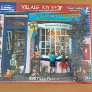 White Mountain 1000 Piece Jigsaw Puzzle The Village Toy Shop Sealed