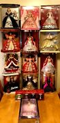 Vintage/collectible Lot 17 Holiday Barbies/ornaments Special Editions Sealed