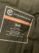 Crye Precision G3 Field Pants 34 Olive Twill