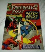 Fantastic Four 40 Nm+ 9.6 Ow Pgs 1965 Marvel Silver Age Doctor Doom And Daredevil