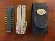 Leatherman Charge Xti Multitool With Limited Sheath And Bit Holder