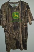 John Deere Camoflauge T Shirt Size Xl In Mens New With Tags
