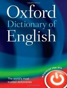 Oxford Dictionary Of English By Oxford Dictionaries - Hardcover