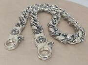 Chrome Hearts Sterling Silver Large Wallet Chain