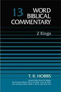 Word Biblical Commentary Vol. 13, 2 Kings By T. R. Hobbs - Hardcover Brand New