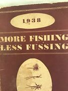 Rare Vintage 1938 Paul H. Young Fly Rod And Fine Fishing Tackle Catalog 5.5 X 9 In