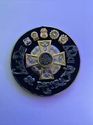 Nypd St Patricks Day Black Serialized Challenge Coin